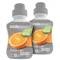 Sirup Stevia Pomeranč 2x 500 ml